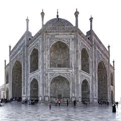 Taj Mahal - NW Corner