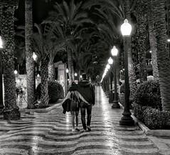 Alacant (irebch) Tags: alicante alacant paseo blancoynegro blackandwhite romántico romance