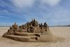 Un château en Espagne (Iris_14) Tags: valencia playadelcabanyal españa espagne spain beach châteaudesable lasarenas