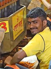 Spice Market (grab a shot) Tags: canon eos 5dmarkiv india maharashtra mumbai 2018 outdoor bazaar market shop spicemarket spices coriander turmeric nutmeg copra coconuts chillies man portrait