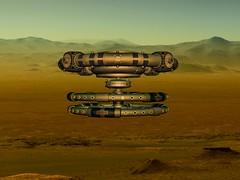 Mir 2 Base Mars - Мир 2 Базис Марс (driver Photographer) Tags: mir мир 3d bryce vue