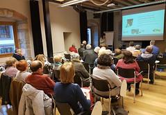Personas asistentes a la primera charla