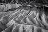 20180315_Death_Valley_004 (petamini_pix) Tags: california deathvalley desert deathvalleynationalpark zabriskiepoint badlands abstract rippled texture blackandwhite blackwhite bw monochrome grayscale