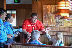 20180412-CJTipACop-Athlete-AllenWales-Cadets-JDS_6632 (Special Olympics Southern California) Tags: athletes claimjumper devonshire giving lapd letr northridge restaurant socal specialolympics specialolympicssoutherncalifornia tipacop fundraiser
