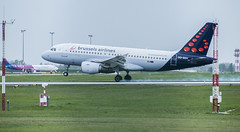 Brussels airlines touchdown (Dreamaxjoe) Tags: airport budapest aeroplane