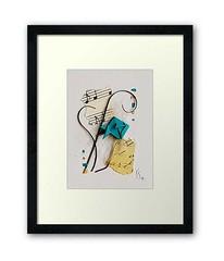 framed-original-fish-paper-collage-origami-aceo-Abstract-折り紙紙コラージュ-atc-julie-savard (julie_savard) Tags: aceo origami atc orijuju juliesavard paperart miniature pocketart papercraft paperartist artisttradingcards japaneseart traditionnalart