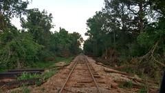 IMG_20180415_195139880_HDR (LnCS) Tags: railroad construction rebuild capitol metro capmetro texas new braunfels weekend trip giddings line rehab rehabilitation