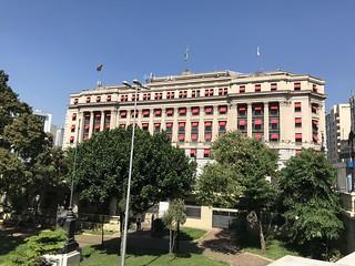 Alexandre Mackenzie Building (1899), downtown São Paulo, Brazil.