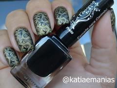 Carimbada (katiaemanias) Tags: esmalteparacarimbo carimbada stampingnailart stampingnails stamping square lafemme katiaemanias betina nailart nails nail unhas unha esmalte esmaltes