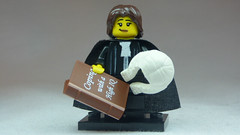 Brick Yourself Custom Lego Figure Cheeky Judge