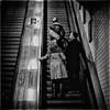 Retro (Fouquier ॐ) Tags: escalator tunnel