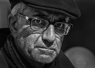 Street Portrait - It is better to be feared than loved, if you cannot be both.