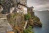 S.Caterina del Sasso_con _pioggia-3 (mirkoforza) Tags: s caterina eremo leggiuno lago maggiore lake cloud rain sony a6000 sigma 1020 panorama landscape paesaggio