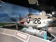 "Grumman F9F-7 Cougar 1 • <a style=""font-size:0.8em;"" href=""http://www.flickr.com/photos/81723459@N04/27010416218/"" target=""_blank"">View on Flickr</a>"