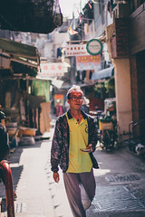 Da dude! (]vincent[) Tags: hk hong kong china asia people portrait girl ginger emma beautiful vincent sony rx 100 mk iv canon 50 mm 14 self cheung chau island sunny bicycle dry dried food
