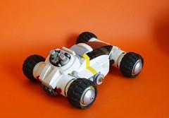 """Grizzli"" exploration buggy (Loysnuva) Tags: lego moc system buggy galactic mining federation custom exploration loysnuva bionifigs"