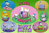 ES 2015-02  Here's Snoopy (StarRunn) Tags: easter holiday snoopy woodstock charliebrown peanuts decoratedeggs pvc toys