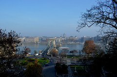 View of Pest from Buda (Valantis Antoniades) Tags: view pest from buda river danube bridge hungary budapest