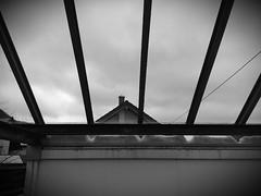 Dach, Dach, Schnee (shortscale) Tags: dach glasdach schnee schornstein