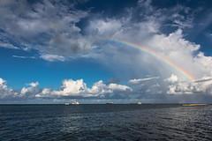 Maldives #3 (foto.karlchen) Tags: adducity southprovince malediven rainbow regenbogen maldives meer clouds wolken