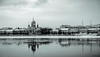 The river in black& White (Tony_Brasier) Tags: icecold russia raw river buildings bluesky boats location lovely nikond7200 sigma 1750mm fantastic saintpetersburg