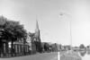 Hoogkerk Hoendiep met Gereformeerde Kerk 1960 (hjrnoorden) Tags: hoogkerk hoendiep