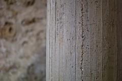 Concrete (•Nicolas•) Tags: yvelines france nicolasthomas m9 concrete texture pillar chevreuse tourism visit material color architecture dof 50mm