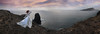 A sonet by the sea (Silvia Travieso G.) Tags: silviatravieso romantic romanticism ethereal oniric dream lady white gothic bride femenine sunset islands cliff ocean sea love pale pastel bucolico princess fairytale nature
