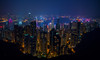 Victoria Peak, Hong Kong (Daniel Zwierzchowski) Tags: skyline skyscrapers landscape city montropoly buildings night outdoor sony alpha a7rii a7rmk2 sky cityscape china asia hongkong sel 24105 g ngc ng