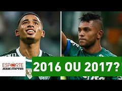 Palmeiras 2016 x Palmeiras 2017: qual tem o melhor time? (portalminas) Tags: palmeiras 2016 x 2017 qual tem o melhor time