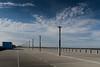 An Deck (dominidomk) Tags: loop5 parkdeck parken abandoned leer weite sky himmel lampen laternen deck