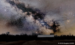 Can You Count the Stars? Milky Way Over a Beckwith Township Barn (griffithd68) Tags: amateurastrophotography astrophotography widefieldastrophotography milkyway milkywayimages milkywaypicture beckwithtownship ontario canada thenightsky themilkyway nightsky nikond810 nikon20mmf18g mars saturn