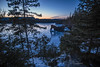 Serene Sunset (Portraits of Nature) Tags: sunset sleepinggiant seascape sealion landscape lakesuperior ice winter trees outdoors adventure dusk