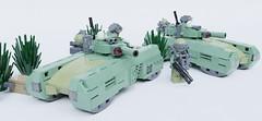 M39 Falcata light hovertank (Sunder_59) Tags: lego moc render blender3d mecabricks tank hovertank vehicle military scifi future