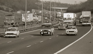 On the Motorway in 1984