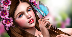 Hello cutiepie (meriluu17) Tags: enfersombre poseidon cute baby sweet doll butterfly animal chase closeup dolly cutie portrait people