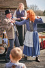 No fighting in front of the children (nigelboulton72) Tags: entertainers ginger fight beard