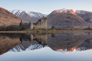 Reflections of Kilchurn Castle