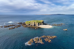 """Glashedy Island"" - Donegal's Desert Oasis (Gareth Wray - 10 Million Views, Thank You) Tags: ireland historic history building natural old rural abandoned gareth wray photography nikon summer landscape landmark tourist tourism scenic visit sight irish county stone rock architecture walls details sunset dji phantom 4 pro p4p four drone quadcopter ruin seascape ocean donegal atlantic sea farm view traditional heritage coast isle doagh glashedy island inishowen trawbreaga pirate bay wild day way coastal sun ghost shore seaside beach water aerial sky"
