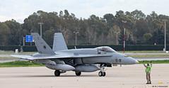Ejército del Aire McDonnell Douglas EF-18M Hornet C.15-60/12-18, Ala 12 at Malaga AFB/LEMG for DAPEX-18 (Mosh70) Tags: malagacostadelsolairport lemg ejércitodelaire mcdonnelldouglas ef18mhornet ala12 ala15 dapex18