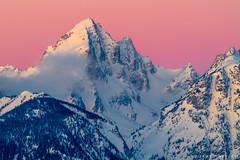 First Rays on Buck Mountain (James Neeley) Tags: tetons grandtetonnationalpark buckmountain sunrise jamesneeley