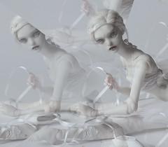 ballet (dolls of milena) Tags: bjd abjd resin doll ballet marmite sue butterfly angel egg portrait