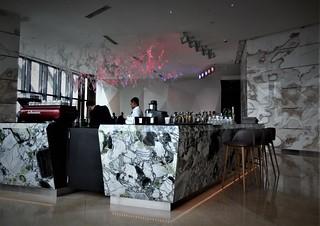the bar at Trace