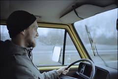 Scan-180106-0002 (Fred.Erik) Tags: vw bus canon p utlron cosina vogtländer 35mm 17 ltm rangefinder film colour selfdeveloped car rain winter