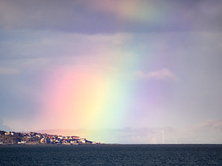 Rainbow over Pettycur
