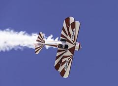 Topside Stearman (dcnelson1898) Tags: 2018lukedays lukeairforcebase glendale arizona airshow aviation aerobatics air plane airplanes desert warbirds