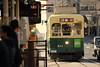 Slow running (Teruhide Tomori) Tags: nagasakielectrictramway nagasaki streetcar japan japon kyusyu road street traffic 九州 長崎 長崎電気軌道 市電 路面電車 街 日本 railroad train