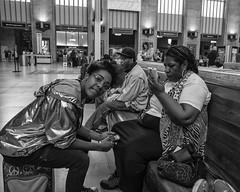 30th Street Station, 2017 (Alan Barr) Tags: 30thstreetstation trainstation philadelphia 2017 availablelight street sp streetphotography streetphoto blackandwhite bw blackwhite mono monochrome city candid people fujifilm fuji x70