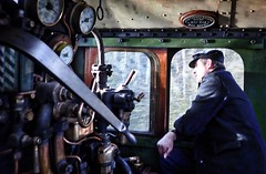 Great Central Railway Rothley Leicestershire 4th February 2018 (loose_grip_99) Tags: great central railway railroad rail steam engine locomotive leicester leicestershire lner ger b12 460 8572 cab dave driver rothley footplate transportation preservation gassteam uksteam trains railways march 2018 train 61572