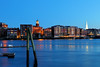 4/5/18 (MRD Images) Tags: portsmouth nh newengland newhampshire canon eos longexposure slowshutter city skyline ocean river flickr waterfront water dusk twilight april 52week week14